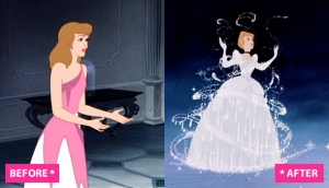 Image result for cinderella before and after